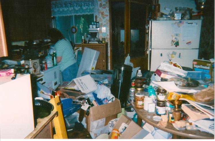 Mom in kitchen