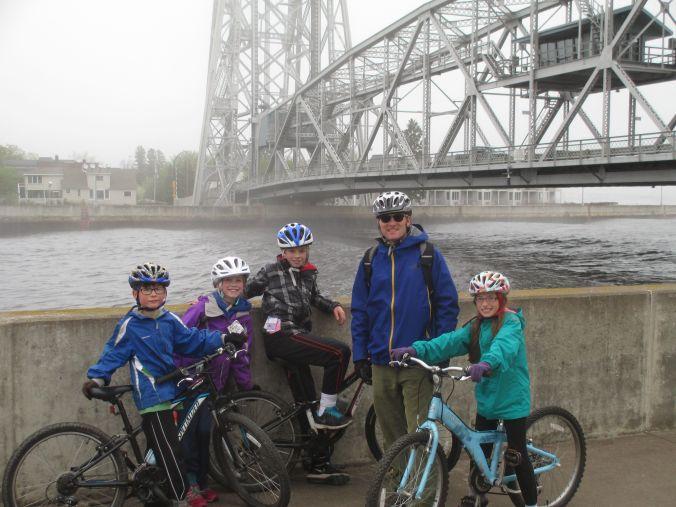 bikes and bridge