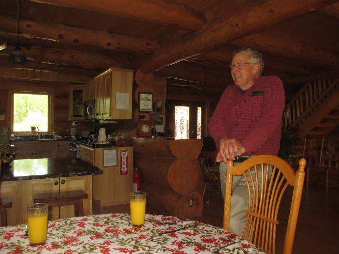 Joe in lodge